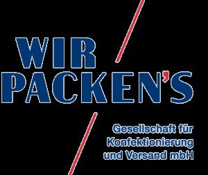 Das Logo der Wir Packens Gesellschaft für Konfektionierung und Versand