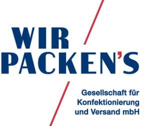 Fulfillment und Logistik durch Wir Packen's GmbH